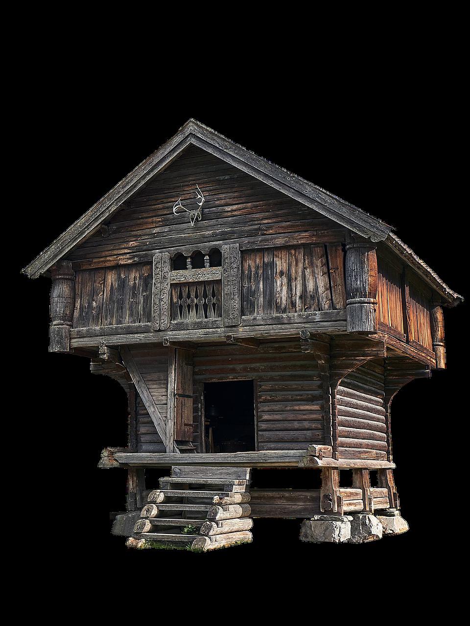 Chalet House Cabin Cottage  - jean52Photosstock / Pixabay